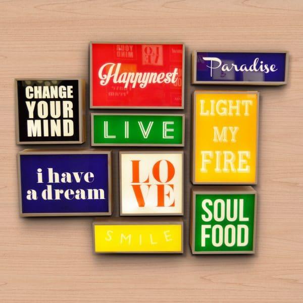 Seletti lightbox lichtbox