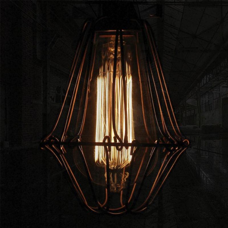 Mullan praia industri le lampen gewoon wonen - Licht industriele vintage ...