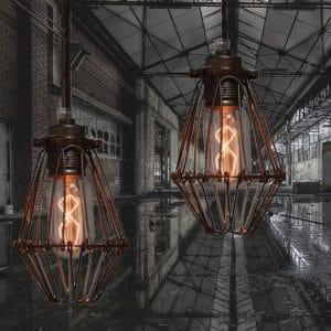 Praia industriële lampen van Mullan