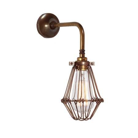 praia vintage kooi wandlamp