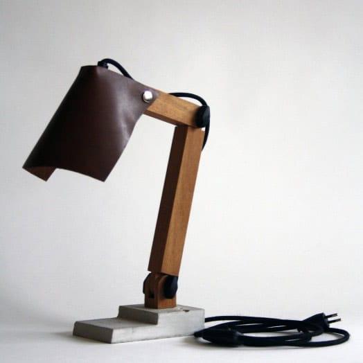 BigFoot lamp bruin