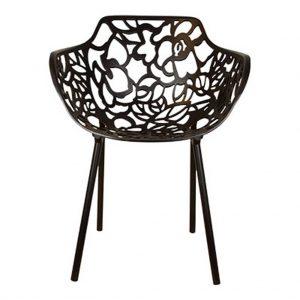 Cast magnolia stoel zwart