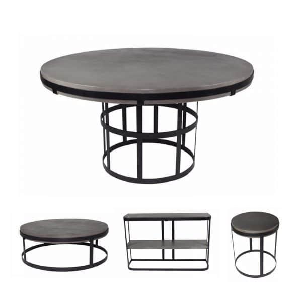Beton concrete tafels