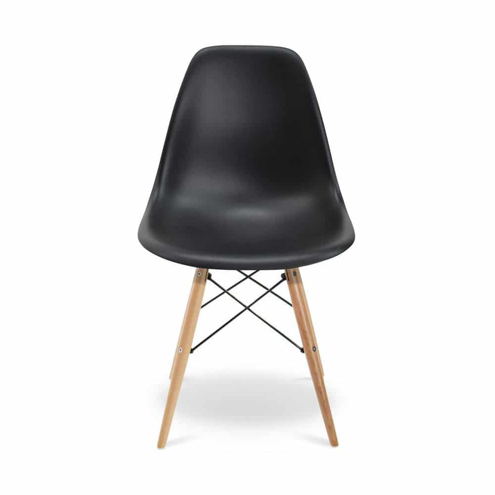 Nep eames stoel trendy dsw style wit design stoel with for Replica vitra eames