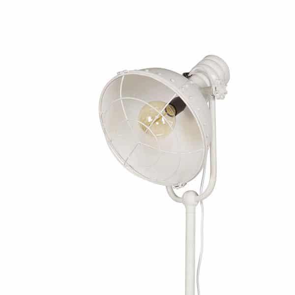 Details spotlight vloerlamp