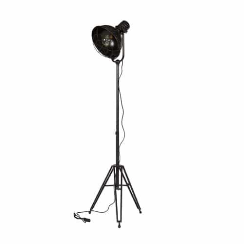 Zwarte spotlight lamp